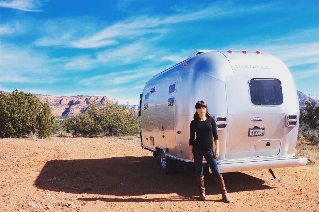 Airstream, Sedona, Camping